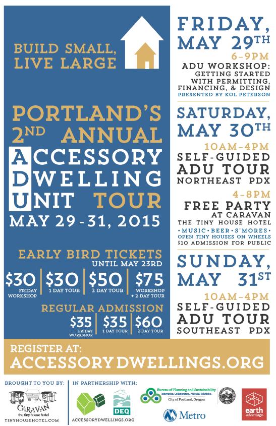 ADU Tour Flyer