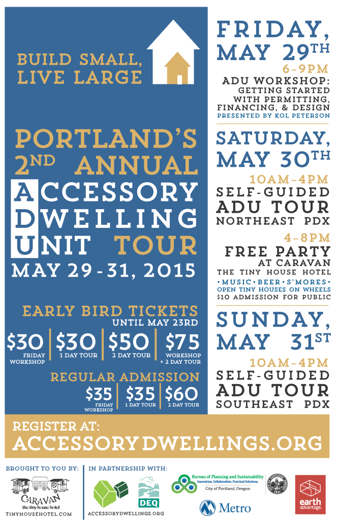 ADU Tour Flyer