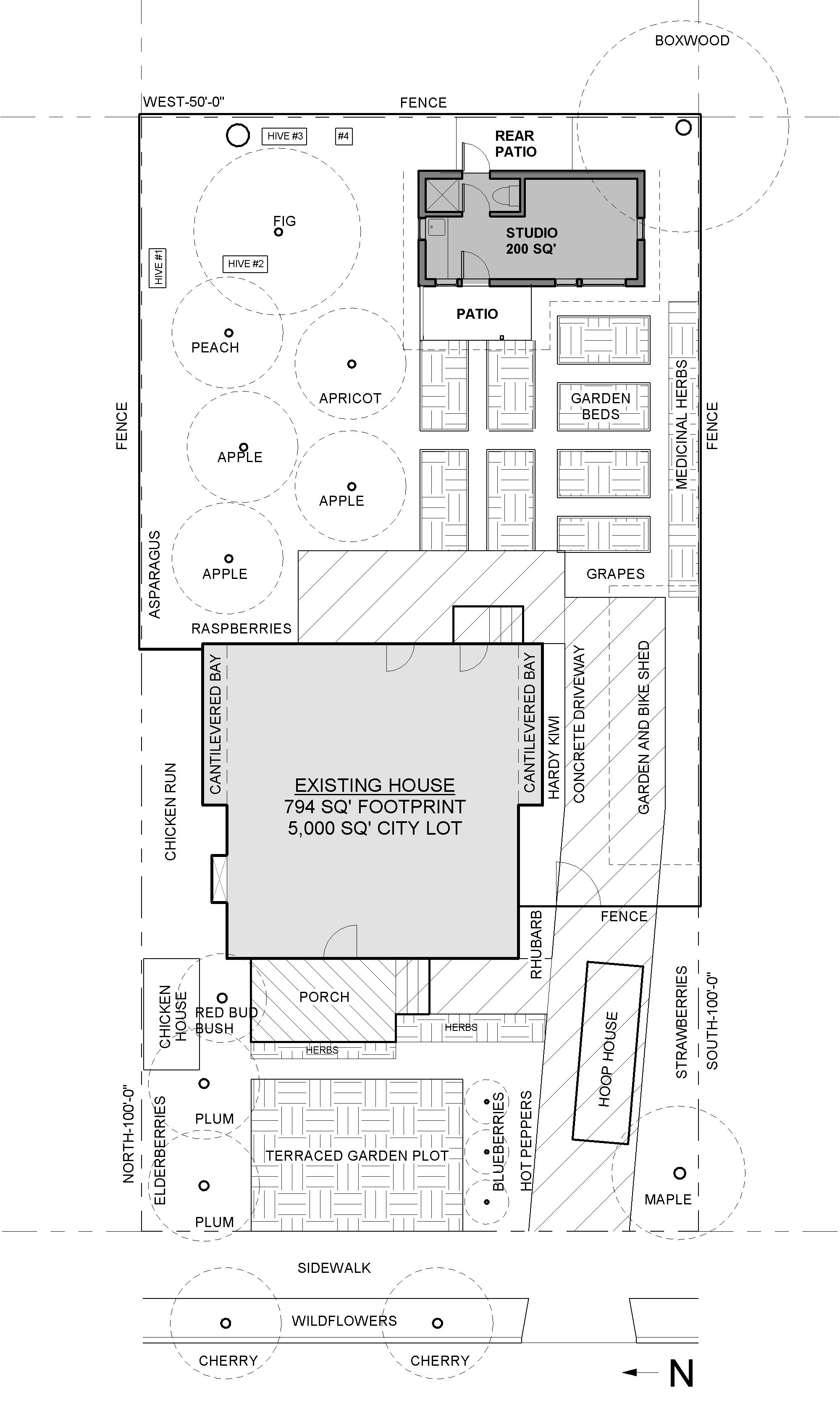 400 Square Foot Apartment Backyard - site-plan_Amazing 400 Square Foot Apartment Backyard - site-plan  Image_884591.jpg