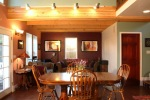 Kol's dining room and living room