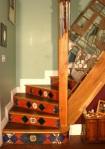 Kol's tiled staircase