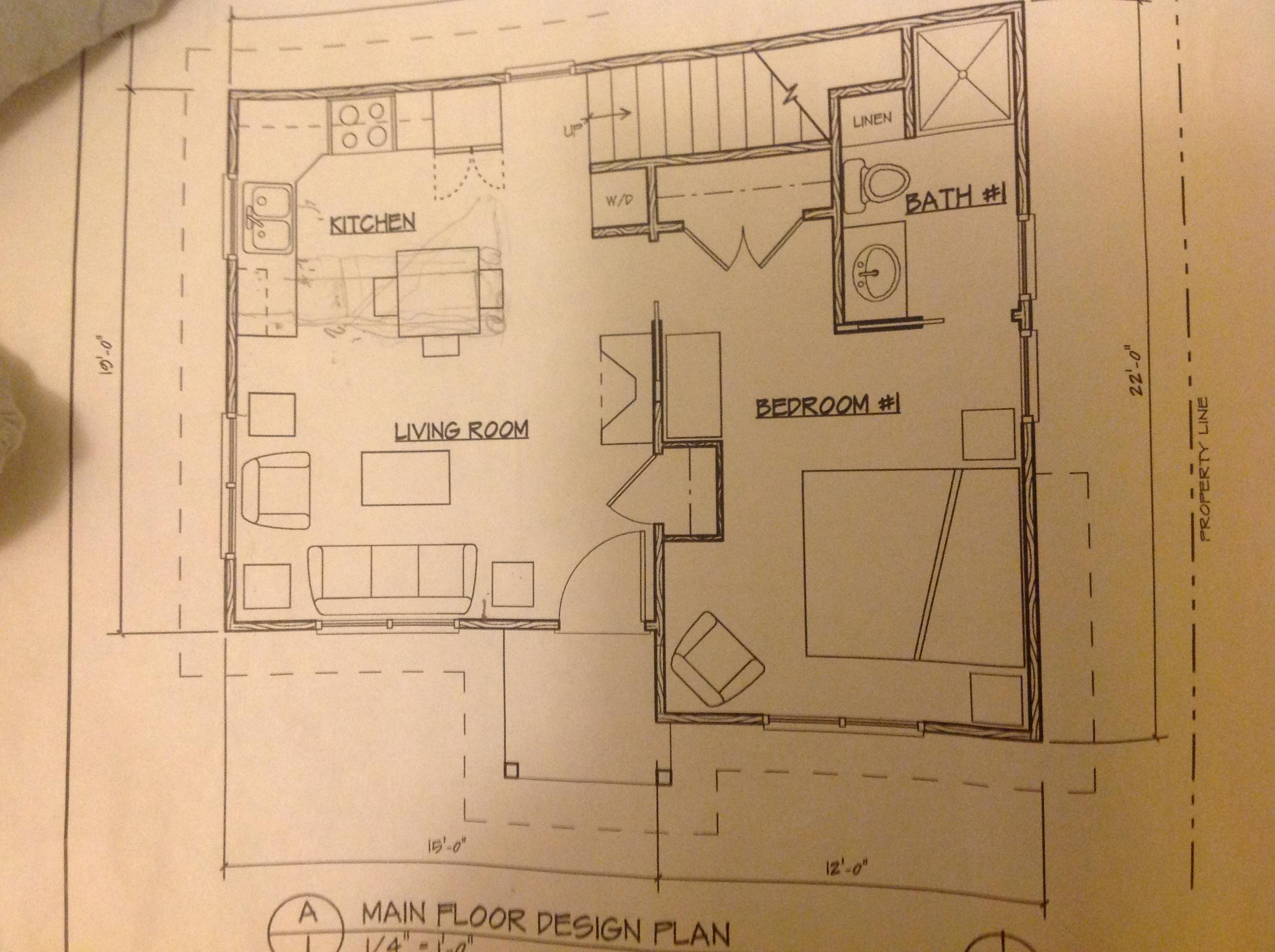 Scott powers adu first floor plan accessory dwellings for Adu floor plans