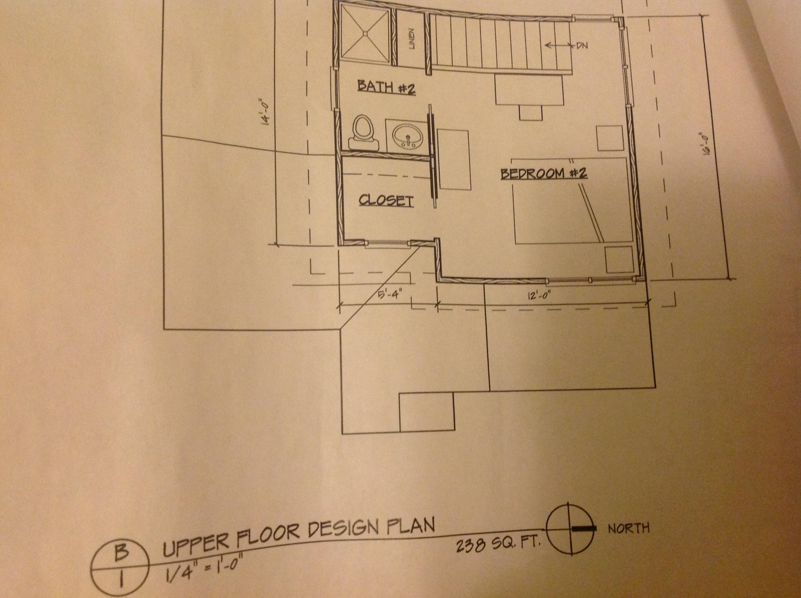 Scott powers adu second floor plan accessory dwellings for Adu floor plans