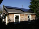 solar panels make Jill's ADU net zero electricity