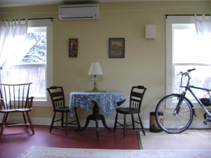 dining area in Jill's ADU