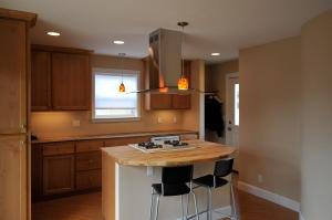 kitchen in Stephen Williams' ADU