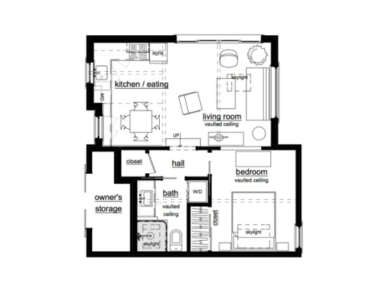Susan moray s adu floor plan accessory dwellings for Accessory dwelling unit floor plans