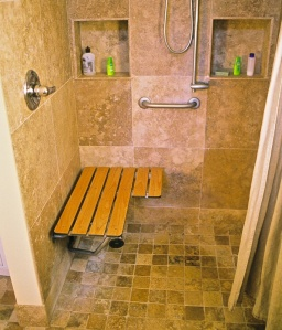 Nelson-Matthews ADU Roll-In Shower