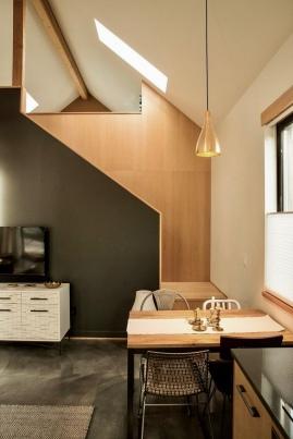 Modern interior finish of 2BR detached ADU
