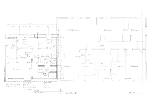 Cole adu floor plan accessory dwellings for Adu floor plans