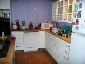 Pequeno ADU Kitchen