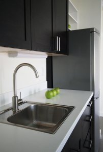 Gray-Okulitch ADU Kitchen Sink - photo credit Hammer & Hand