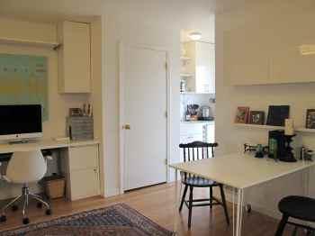 Interior of a JADU (Junior accessory dwelling unit) -- photo (c) Lilypad Homes