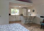 Kitchen far view