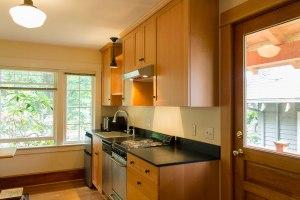 Grimm-Haberman ADU  Kitchen & Entry