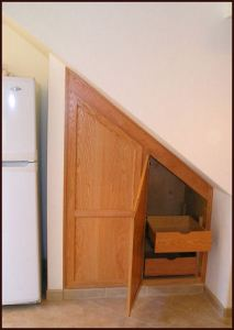 Allen-Shelly ADU Angled Cupboards Under Stairs