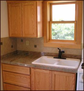 Allen-Shelly ADU Kitchen Sink & Cupboards