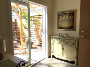Abens ADU French Doors to Covered Patio