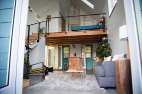 Chamberlin-Lohman ADU Living, Kitchen, & Loft