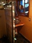 Lonstron ADU Bathroom Sink & Glass Block Divider