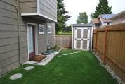 Richenstein ADU Side Yard & Shed