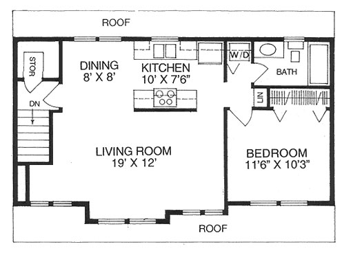 Accessory dwelling unit floor plans thefloors co for Accessory dwelling unit house plans