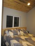 detached bedroom, interior